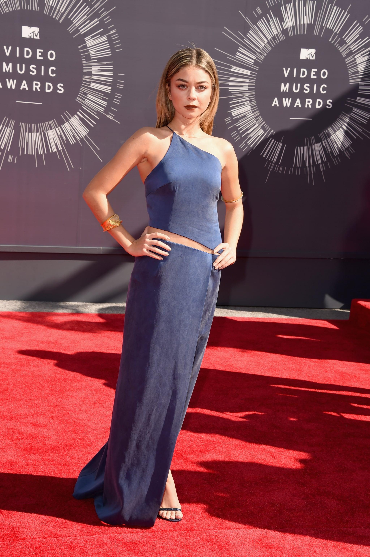 Sarah Hyland at the 2014 MTV VMAs