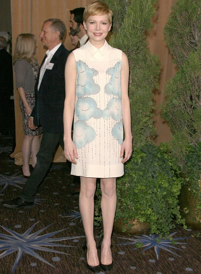 Michelle Williams Dresses in Erdem and Victoria Beckham