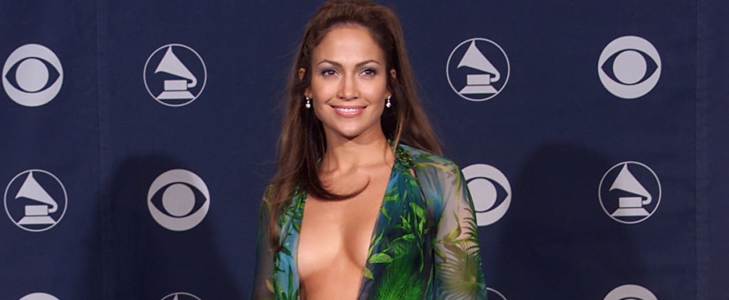 Jennifer Lopez Wasn't the First One to Wear That Green Versace Dress on the Red Carpet