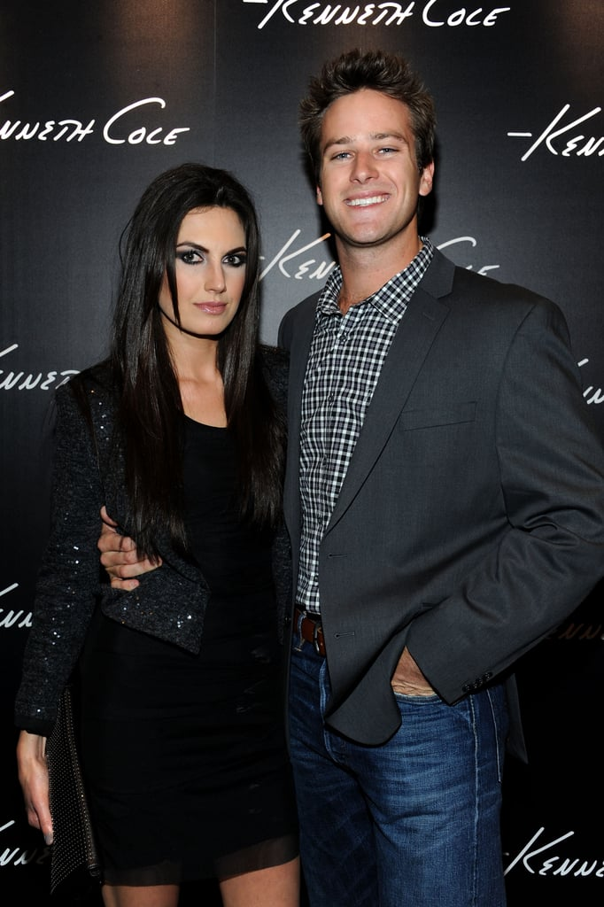 Armie Hammer and His Wife Elizabeth Chambers Pictures ...