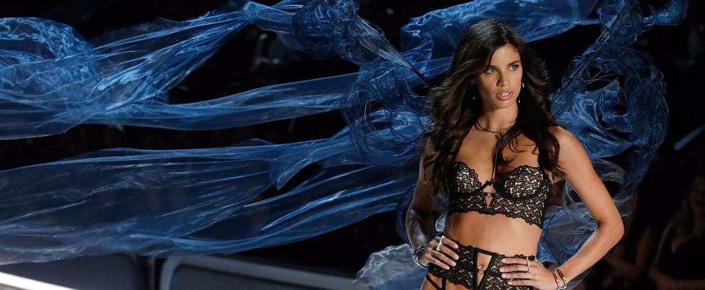 Victoria's Secret Angel Sara Sampaio Did Her Own Hair For the Show