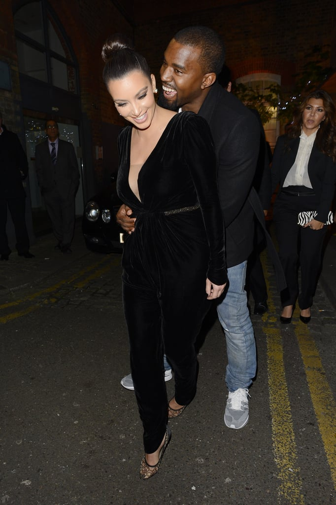 "Kim Kardashian and Kanye West got married in Italy in 2014, had the most loved up and most liked photo on Instagram, and graced the cover of Vogue, resulting in plenty of adorable and memorable snaps. However, the two have been very public about their love, and Kanye even often grins from ear to ear when he's around Kim. We're taking a look back at their sweetest moments in honor of their wedding anniversary — keep scrolling to relive Kim and Kanye's love, then get an adorable peek at their two children, North and Saint.      Related:                                                                                                           Kim Kardashian Celebrates 4 Years of Marriage to Kanye West: ""I'm So Lucky"""