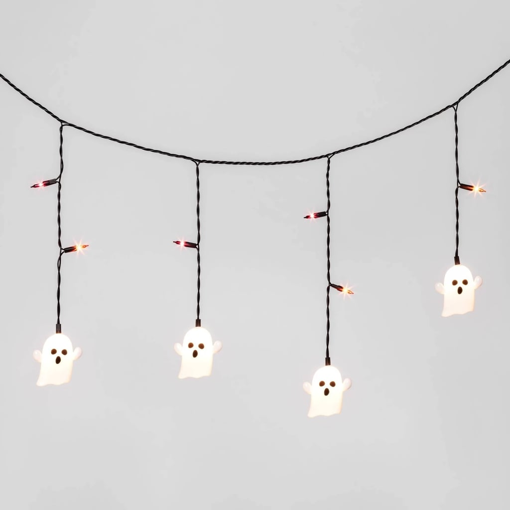 Halloween Incandescent Ghost String Lights