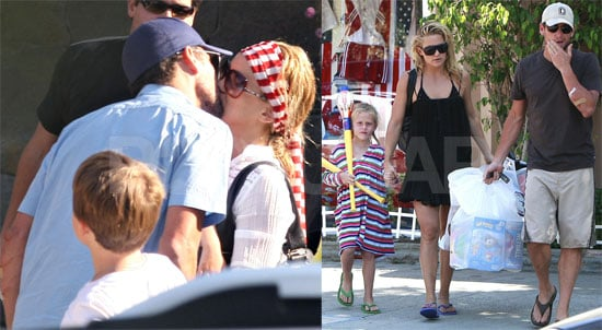 Photos of Lance Armstrong and Kate Hudson on the Fourth of July