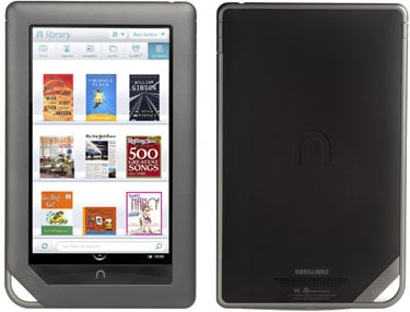 Pictures of the Nook Color