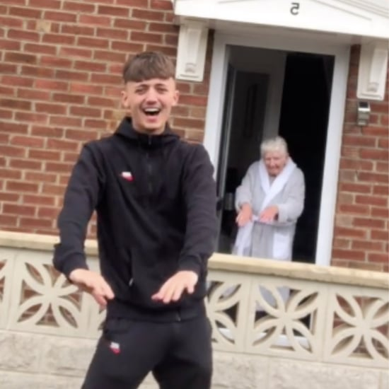 Teen Does Funny TikTok Dance With Nan | Video