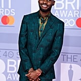 Dave at the 2020 BRIT Awards in London