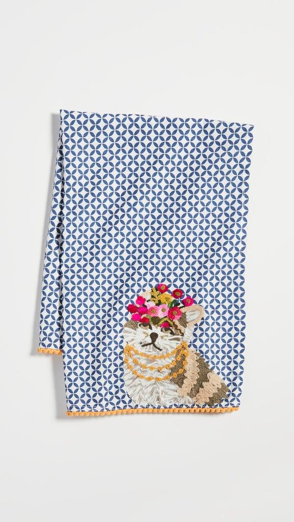 Princess Cat Tea Towel