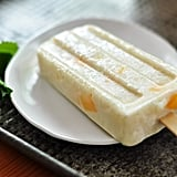 Coconut and Mango Rice Pudding Pops
