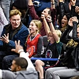 Cool Dad Conan O'Brien Sits Courtside With His Kids at the Clippers Game