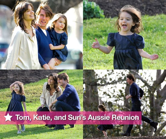 Tom Cruise and Katie Holmes Feel the Love Down Under With Suri Cruise