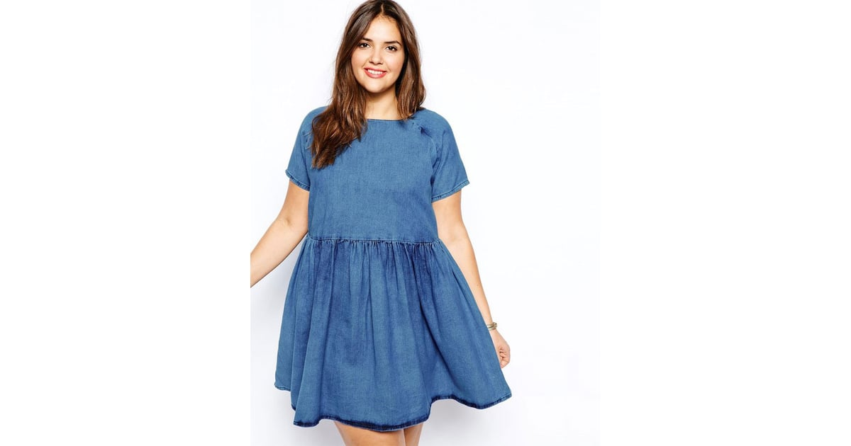 Asos Plus Size Denim Dress Plus Size Dresses For Summer Popsugar