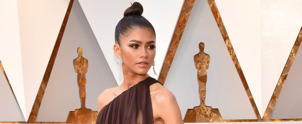 Zendaya's Dress Looks Like It's Falling Off Her Shoulder, but Don't Fret