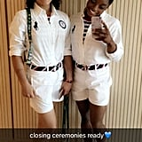 When Laurie Hernandez had to iron her Closing Ceremonies otufit