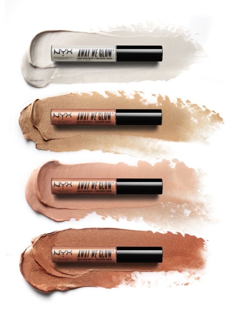NYX Away We Glow Liquid Highlighters | Swatches