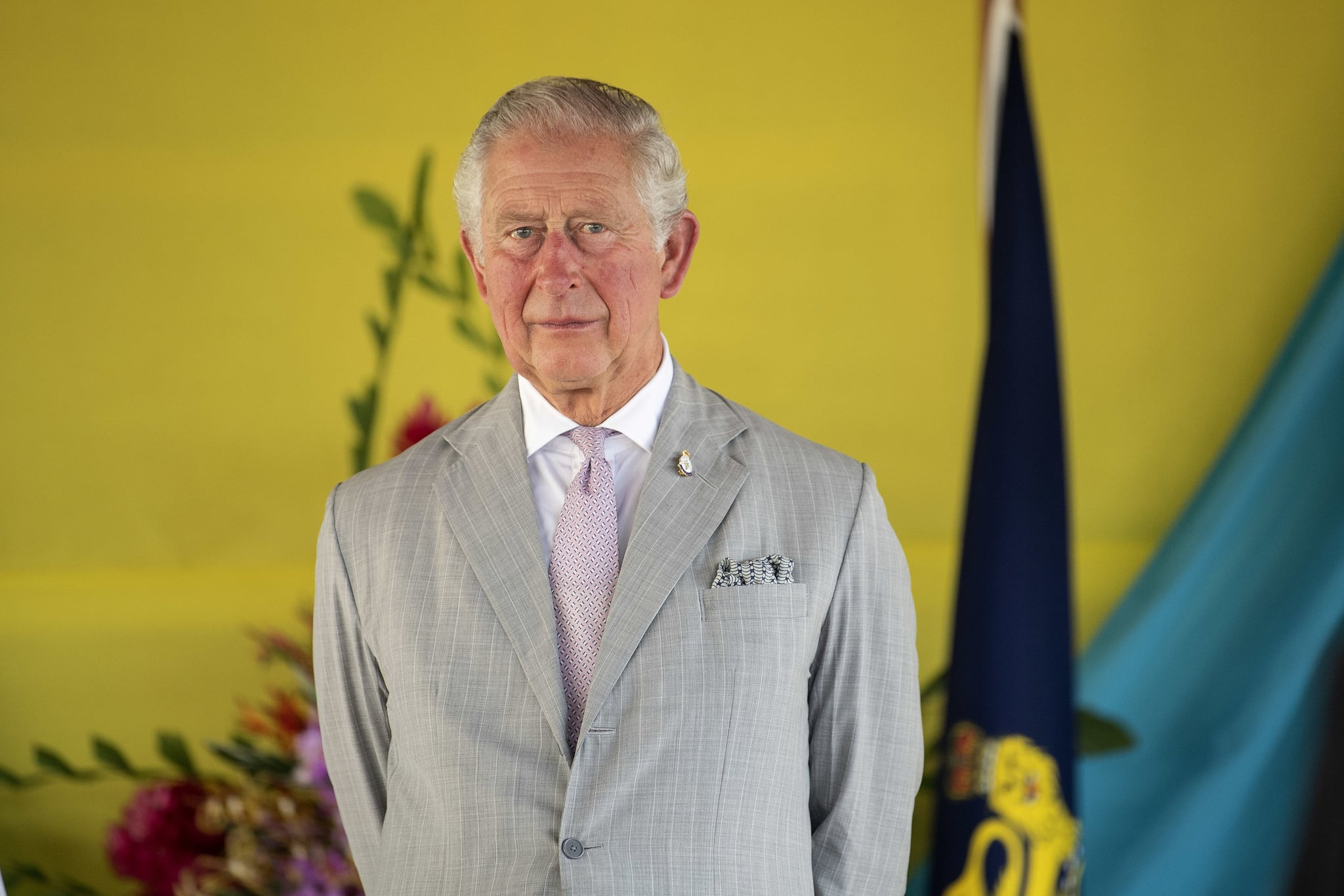 HONIARA, GUADALCANAL ISLAND, SOLOMON ISLANDS - NOVEMBER 24: Prince Charles, The Prince of Wales undertakes investitures at Government House on the second day of the royal visit, 24th November 24, 2019 in Honiara, Solomon Islands. (Photo by Victoria Jones - Pool/Getty Images)