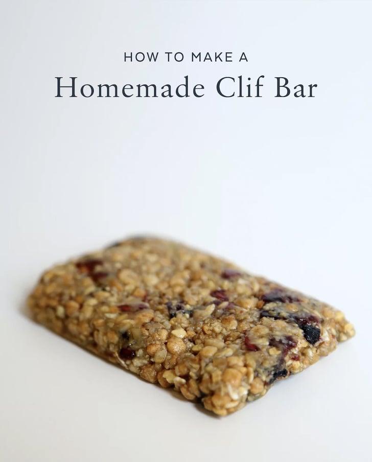 How to Make Homemade Clif Bars