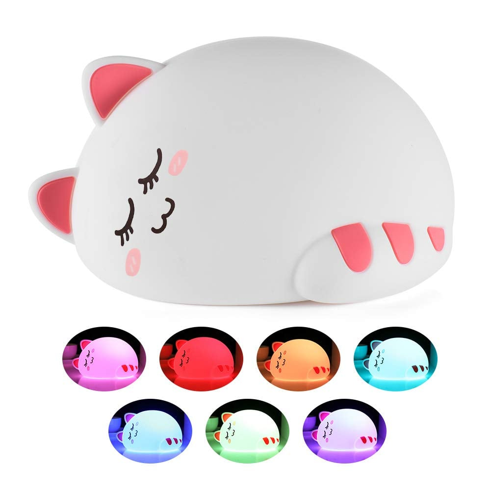 Color Changing Kitty Night Light