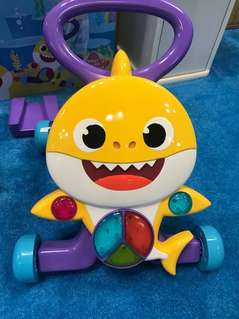 This Baby Shark Walker Will Get Your Baby Moving AND Singing