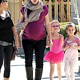 Jennifer Garner and Violet Affleck were a happy bunch after ballet class in LA.