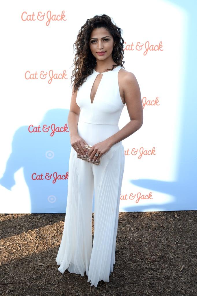 Camila Alves Wearing White Summer 2016