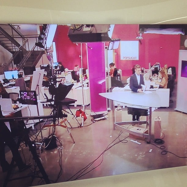 We kicked off POPSUGAR Live! this year.