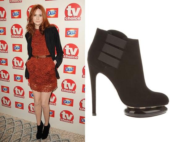 Found: Karen Gillan's Ankle Boots