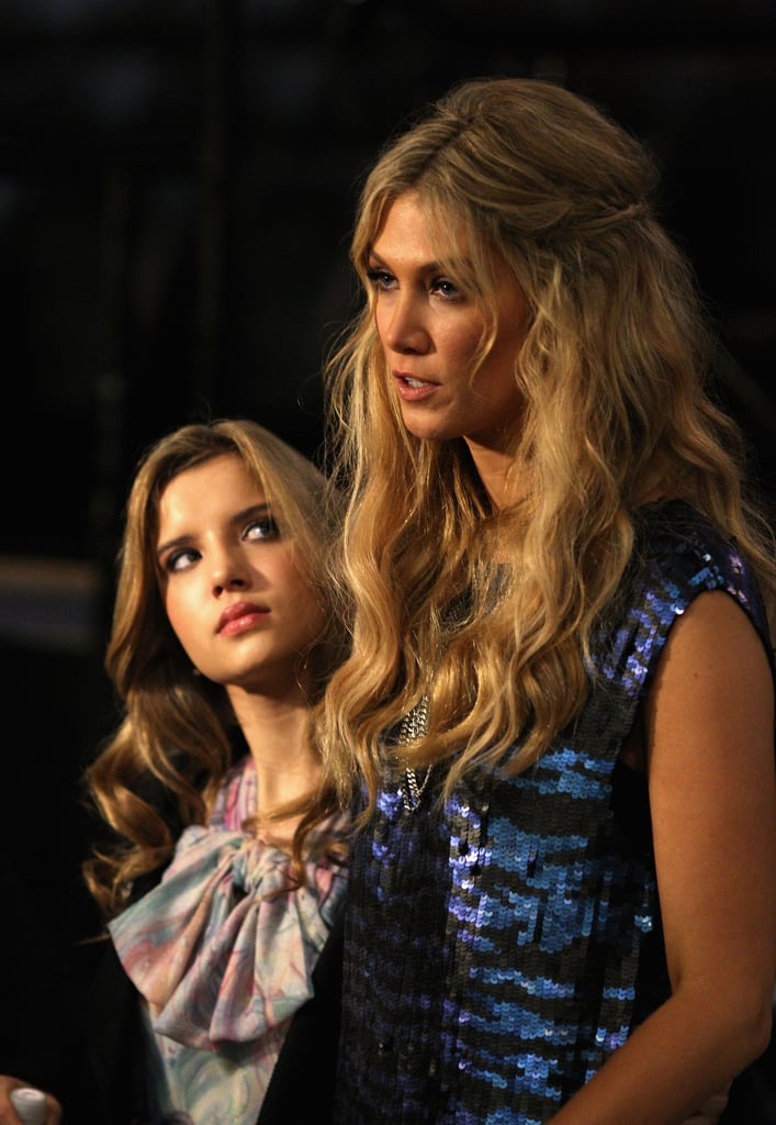 Rachael Leahcar and Delta Goodrem