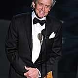Michael Douglas took the stage.