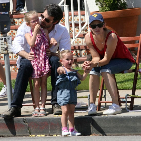 Seraphina and Violet Affleck