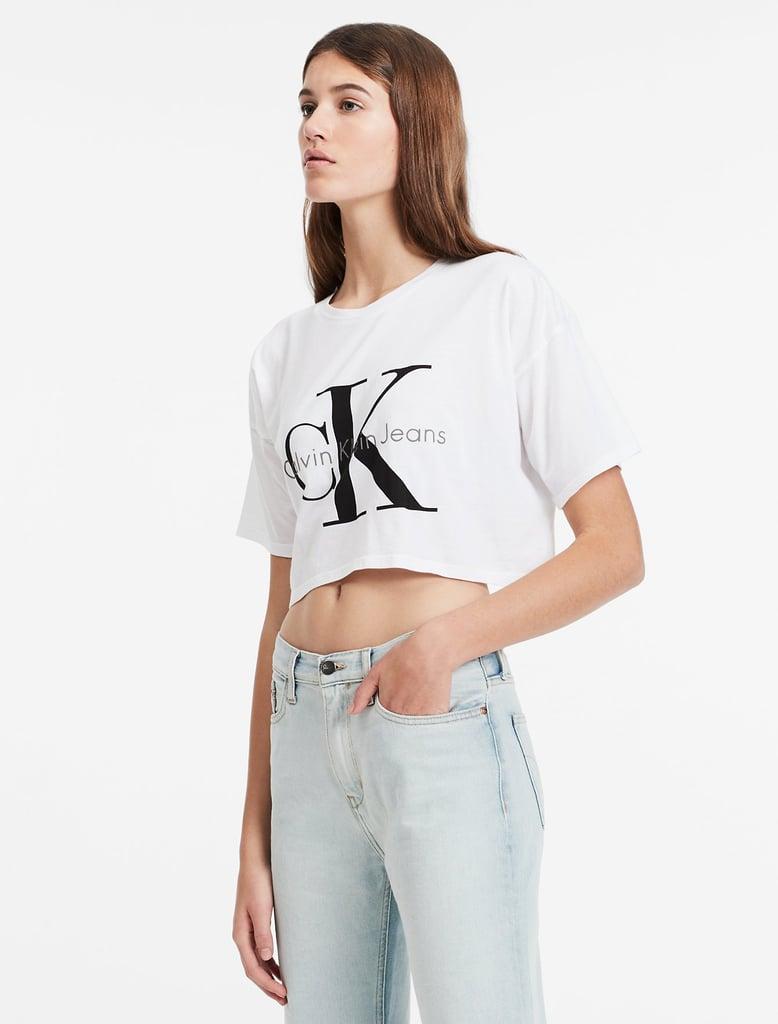 Calvin Klein Boxy Logo T-Shirt ($39)