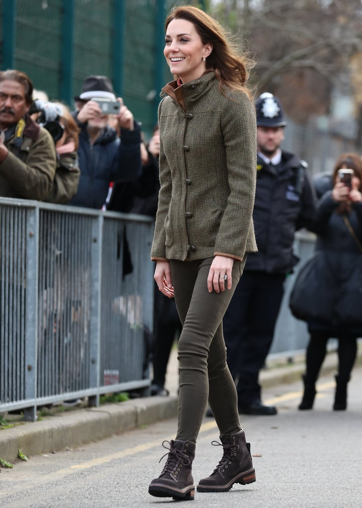 Kate Middleton See By Chloe Boots in