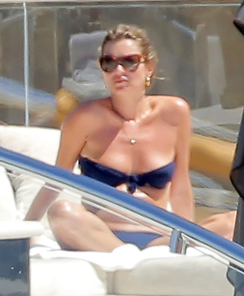 Kate Moss Wears a Bikini in St. Barts