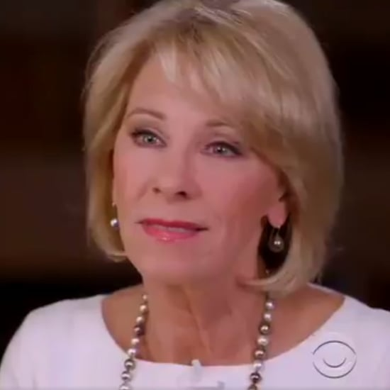Betsy DeVos 60 Minutes Interview on March 11, 2018