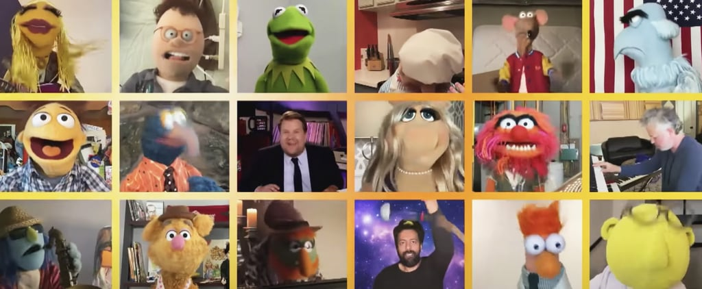 "Muppets, James Corden ""With a Little Help From My Friends"""