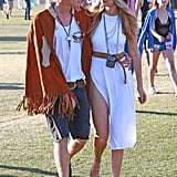 Gigi Hadid and Cody Simpson Coachella PDA 2015