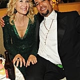Laura Dern and Ben Harper at the Golden Globes.