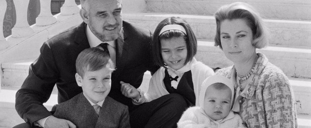 Grace Kelly and Prince Rainier III Family Photos