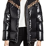 NVLT Mixed Media Puffer Jacket
