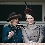 Camilla, Duchess of Cornwall and Zara Tindall
