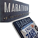 Marathon Bib and Medal Displays