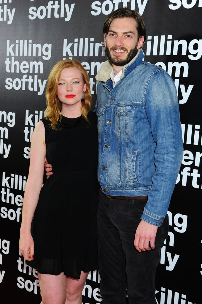 Sarah Snook with nice, Boyfriend Angus McDonald