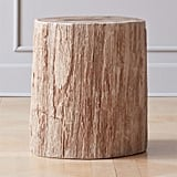 House Stark: Petrified Wood Side Table