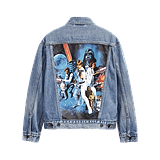 Levi's x Star Wars Movie Poster Denim Jacket