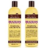 Renpure Originals Brazilian Keratin Straightening Shampoo and Conditioner ($5 each)