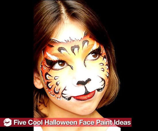 5 Easy, Fast Halloween Face Paint Ideas