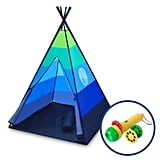 Portable Play Tent With Safari Projector and Tote