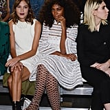 Alexa Chung and Solange Knowles
