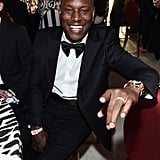 Tyrese Gibson at the Elton John AIDS Foundation Oscars Party