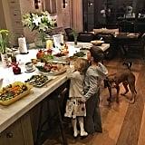 When Their Sprawling Kitchen Island Gave Us #DesignEnvy